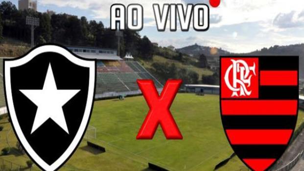 Flamengo x Botafogo ao vivo - Transmissão sábado