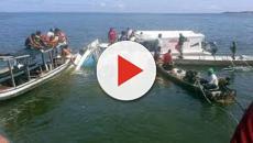 VIDEO: Naufraga un barco turístico en un lago de Missouri