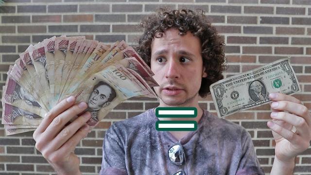 VENEZUELA/ Los billetes son vendidos a un precio tres veces mayor a su valor