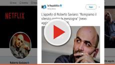 Saviano lancia un nuovo appello: