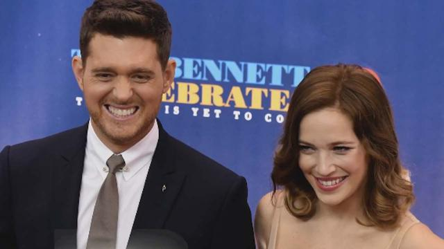 Michael Bublé and Luisana Lopilato welcome a new baby girl
