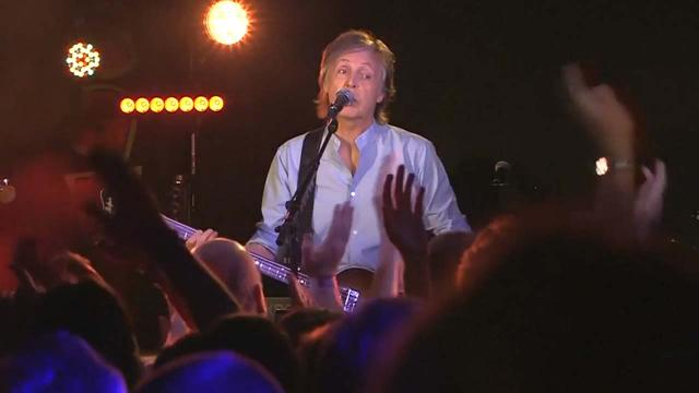 Paul McCartney returns to his roots at The Cavern Club in Liverpool