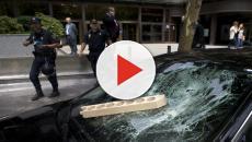 VÍDEO: Taxistas de España se unen a la protesta en contra de las VTC