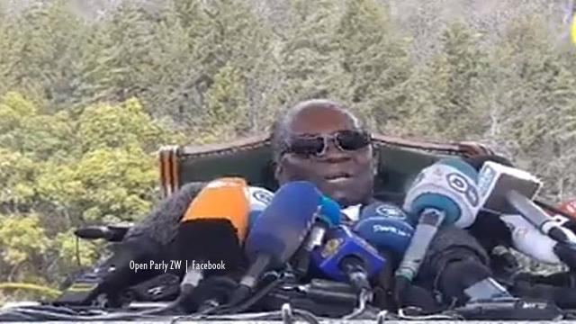 Zimbabwe: Robert Mugabe called a press conferenece on the eve of elections