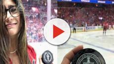 Mia Khalifa dovrà operarsi al seno: è stata colpita da un disco da hockey
