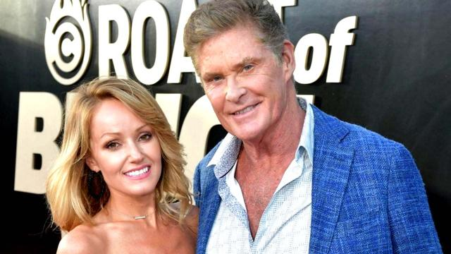 'Baywatch' star David Hasselhoff weds Welsh girlfriend