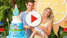 Bebê de Karina Bacchi ganha festa temática de aniversário
