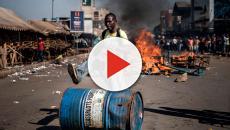 Tres muertos en los enfrentamientos entre manifestantes y el ejército  ZIMBABWE