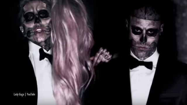 Lady Gaga tweets about 'devastating' death of 'Zombie Boy,' Rick Genest