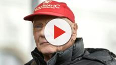 Migliorano le condizioni di Niki Lauda, oggi il risveglio dal coma farmacologico