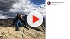 Claudio Santamaria e Francesca Barra: rimosse da Instagram le foto in doccia