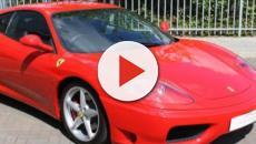 Urta un cinghiale e distrugge una Ferrari 360 Modena, è accaduto a Macerata