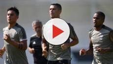 Cristiano Ronaldo muestra todas sus habilidades en los entrenamientos