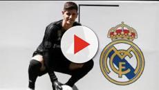VIDEO: Courtois es presentado por el Real Madrid en el Bernabéu