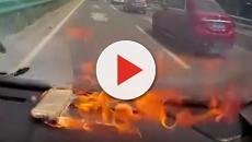 Cina: un iPhone si incendia dopo la riparazione in un centro non ufficiale