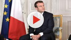 Macron entre début de vacances studieux et bain de foule