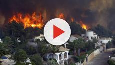 VÍDEO: Se logra paralizar el incendio de 3.000 hectáreas en Valencia