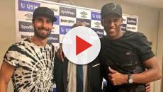VIDEO: Yerry Mina y André Gomes al Everton en un solo movimiento