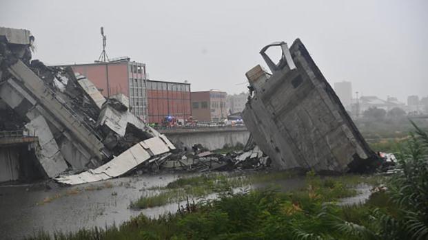 Ponte Morand crollai: la Liguria piange le vittime