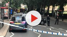 Crash outside UK Houses of Parliament treated as terror incident