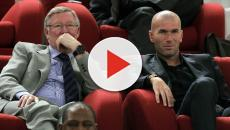 Zidane voudrait entraîner Manchester United