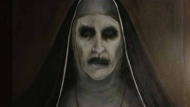 YouTube removes scary trailer for the film The Nun