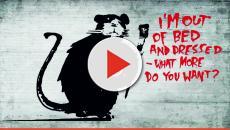 Banksy se entera vía Instagram de que hay una exposición de sus obras en Rusia