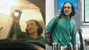 Alejandro Fernández es bajado de un avión por ebrio y causar terror