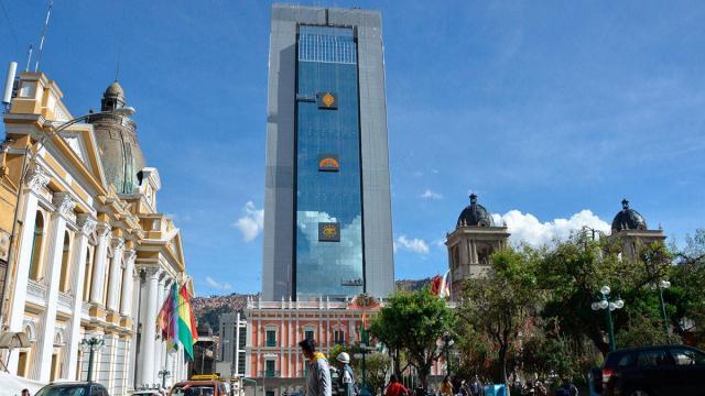 Le nouveau bâtiment officiel de la présidence bolivienne déplaît à la population
