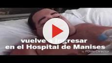 VIDEO:Teófilo el hombre de 385 Kg vuelve a ingresar en el Hospital de Manises