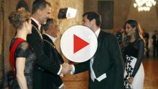 El desplante de la mujer de Forn en el saludo a Felipe VI