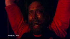 Mandy, the horror film starring Nicolas Cage will get a sneak peek premiere