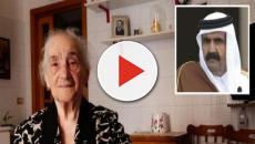 Brindisi, dopo 21 anni l'emiro del Qatar ritorna per ringraziare nonna Teresa