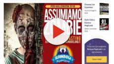 Offerta di lavoro: Rainbow Magicland cerca 150 zombie per festa Halloween
