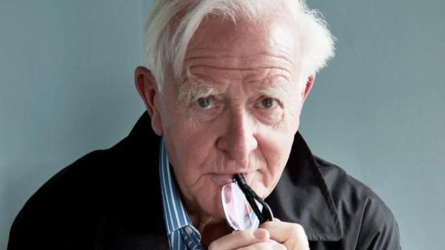 John le Carre collaborates on real-life spy game on London streets