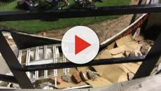 Vídeo: Incidente tras deterioro del estadio de Valleca