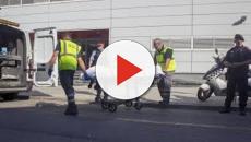 VIDEO: Mossos dan de baja a un sospechoso que entró a una comisaria