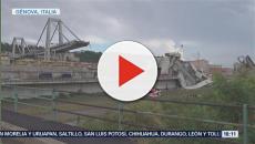 La selfie de Salvini en el funeral de las víctimas del puente Morandi