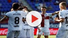 El Huesca consigue ante el Eibar su primera victoria en la Liga Santander