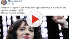 Asia Argento, arriva la stoccata social di Matteo Salvini