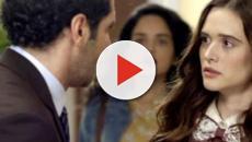O Tempo Não Para: Emílio consegue beijar Marocas, mas é atropelado