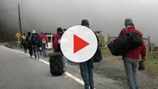 VIDEO:La hazaña de los venezolanos que migran a pie a Colombia