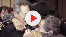Las familias separadas por la Guerra de Corea, se encuentran después de 3 años
