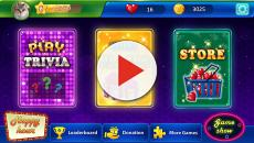 Images of the new app game titled 'Trivia Streak'