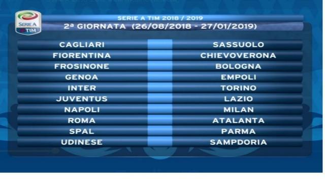 Serie A, la seconda giornata in diretta su Dazn e Sky