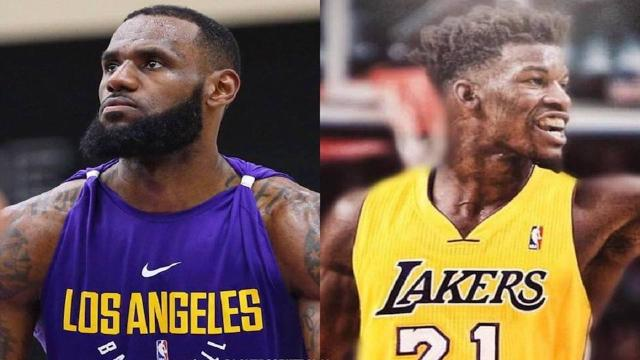 b03c1d1addf5 NBA rumors  Jimmy Butler is reportedly open to joining LeBron James ...