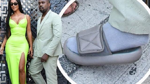Kanye West Wears Hospital Slippers To 2 Chainz's Wedding