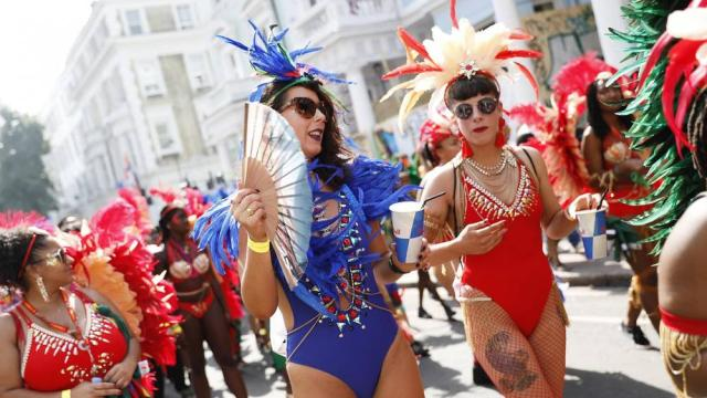 Notting Hill Carnival begins - Massive security operation under way