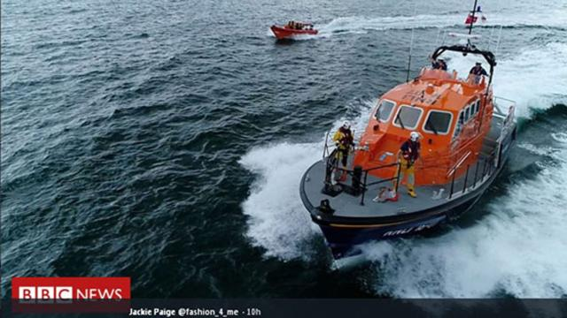 Coastguard finds bodies of two missing fishermen in North Sea
