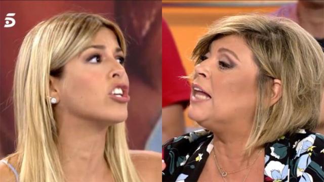 Oriana Marzoli discute con Terelu a causa de Alejandra